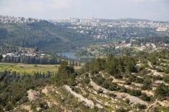 Beit Zayit, Jérusalem Images stock