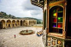Beiteddine pałac widok 20 zdjęcia royalty free