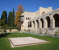 Beitiddine Palace, Lebanon. Inner courtyard of the famous palace built over a thirty year period starting in 1788 , now a national landmark and tourist Royalty Free Stock Image