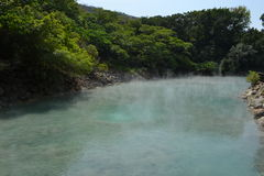 Beitou Hot Springs 2. Natural Hot Springs Beitou Thermal Valley Royalty Free Stock Photography