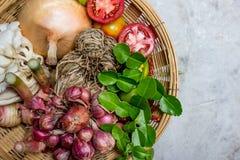 Beiträge zu thailändischem würzigem Lebensmittel Stockfotos