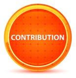 Beitrag-natürlicher orange runder Knopf lizenzfreie abbildung