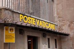 Beitrag Vaticane Stockbild