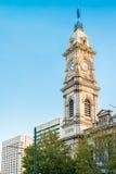 Beitrags-Shop Adelaides GPO mit Turmglocke Lizenzfreie Stockfotos