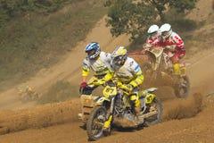 Beiwagenquerrennen Lizenzfreie Stockfotos