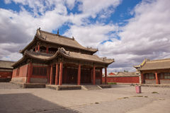 Beizi Temple. One of the largest lamaseries of Inner Mongolia Royalty Free Stock Photo