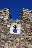 Beja Castle. Portugal Alentejo Region historical town of Beja, castle battlement Royalty Free Stock Photos