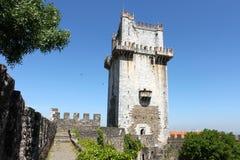 Beja kasztel, Portugalia Obrazy Stock