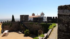 Beja kasztel, Portugalia Fotografia Royalty Free