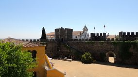 Beja kasztel, Portugalia Zdjęcia Stock