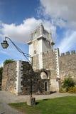 BEJA, PORTUGAL: O castelo e a torre fotos de stock