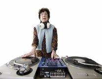 Bejaard DJ Stock Foto's