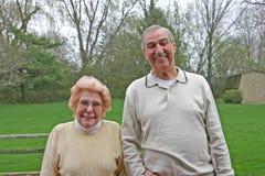 Bejaard Paar Royalty-vrije Stock Foto