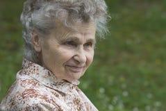 Bejaarde stock fotografie