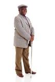 Bejaarde Afrikaanse mens Stock Foto