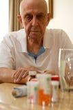 Bejaarde Drugs Royalty-vrije Stock Afbeeldingen