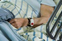 Bejaarde Gezondheidszorg stock foto