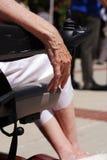 Bejaarde Hand Stock Afbeeldingen