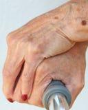 Bejaarde Handen Stock Afbeeldingen