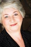 Bejaarde Italiaanse vrouw Stock Foto