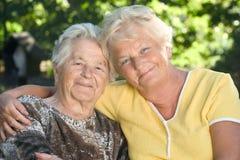 Bejaarde mensen Royalty-vrije Stock Fotografie