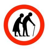 Bejaarde mensen Stock Afbeeldingen