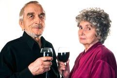 Bejaarde mensen stock fotografie