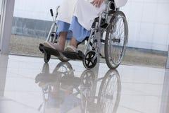 Bejaarde patiënt Stock Fotografie