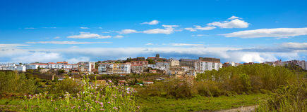 Bejar-Dorf Salamanca von Spanien über De La Plata stockbild