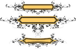 Beje Banner With Ornament_1