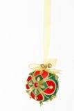 Bejewelled Weihnachtsflitter Lizenzfreie Stockfotografie