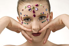 Bejewled Beauty Royalty Free Stock Images