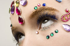 Bejewled Beauty Stock Images