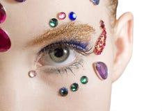 Bejewled Schönheit Lizenzfreies Stockfoto