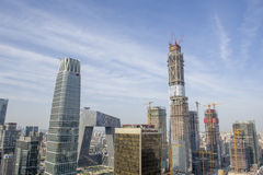 Bejing city landscapes Royalty Free Stock Photo