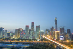 Bejing city landscapes Stock Photography