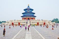 Temple of heaven beijing stock photo