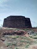 Bekal fort. Bekal fort is the biggest fort in Kerala it is located in northern part of Kerala. The fort spread around 40 acres and surround ed by Arabian sea royalty free stock image