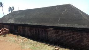 Bekal fort. Bekal fort is the biggest fort in Kerala it is located in northern part of Kerala. The fort spread around 40 acres and surround ed by Arabian sea stock image