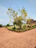 Bekal fort. Bekal fort is the biggest fort in Kerala it is located in northern part of Kerala. The fort spread around 40 acres and surround ed by Arabian sea Royalty Free Stock Photos
