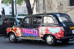 Bekanntmachen von Priscilla in London Lizenzfreie Stockfotos