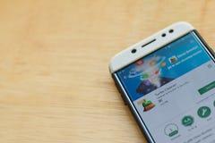 Turbo Cleaner dev application on Smartphone screen. BEKASI, WEST JAVA, INDONESIA. JUNE 3, 2019 : Turbo Cleaner dev application on Smartphone screen. Turbo stock photos
