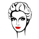 Bekehrter von ROHEM für bessere Qualität Modeschönheitsgesicht tinte Lizenzfreie Stockbilder