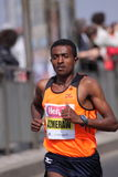 Bekele Azmerach - Prague half marathon Royalty Free Stock Photos
