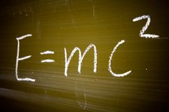 Bekende fysieke formule Royalty-vrije Stock Foto