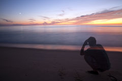 Bekijk de oceaan Royalty-vrije Stock Afbeelding