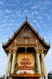 Bekläda av kyrkan, Thailand. Royaltyfri Foto