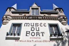 Museum av forten i gammala Quebec City Royaltyfria Foton