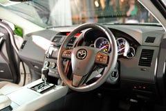 Bekläda inre av Mazda CX-9 på dess barkass Royaltyfri Bild