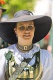 beklär den historiska kvinnan arkivbilder